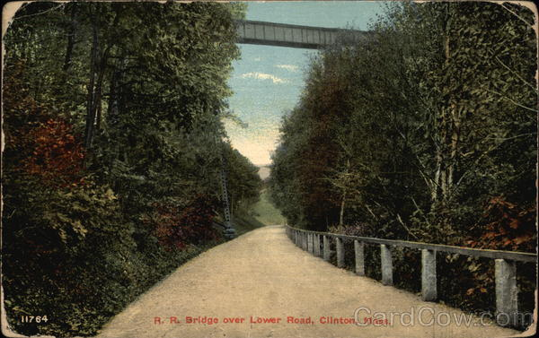 R. R. Bridge over Lower Road Clinton Massachusetts