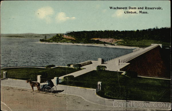 Wachusett Dam and Reservoir Clinton Massachusetts