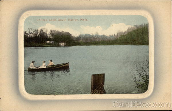 College Lake South Hadley Massachusetts