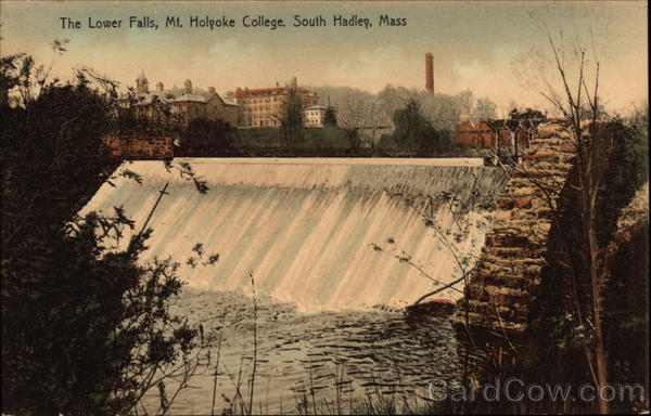 The Lower Falls, Mt. Holyoke College South Hadley Massachusetts