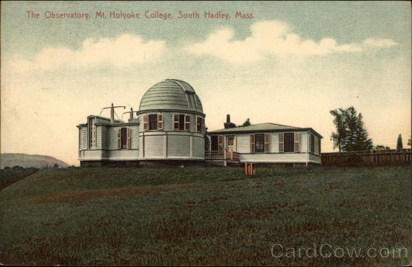 The Observatory at Mt. Holyoke College South Hadley Massachusetts