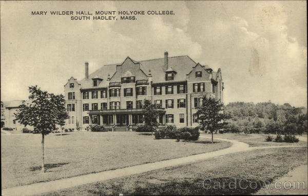 Mount Holyoke College - Mary Wilder Hall South Hadley Massachusetts