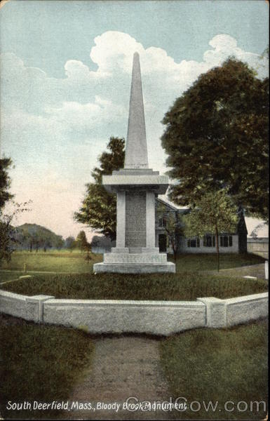 Bloody Brook Monument South Deerfield Massachusetts