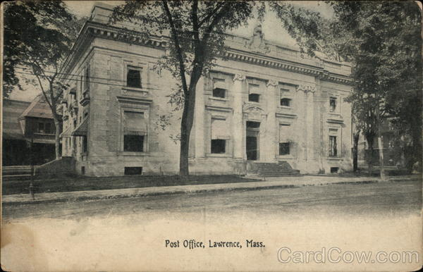 Post Office Lawrence Massachusetts