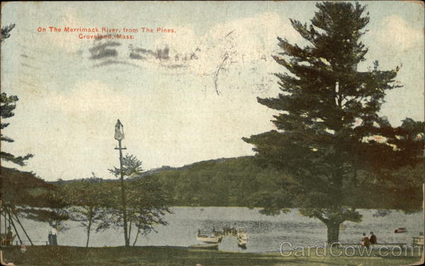 On the Merrimac River, from the Pines Groveland Massachusetts