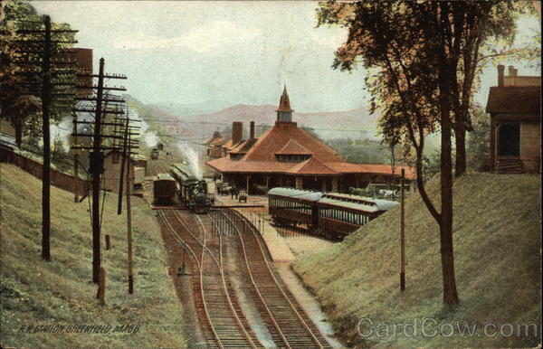 Railroad Station Greenfield Massachusetts