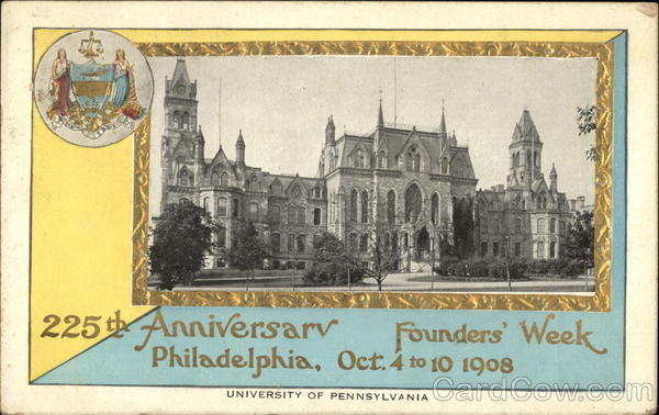 University of Pennsylvania - 225th Anniversary - Founder's Week Philadelphia