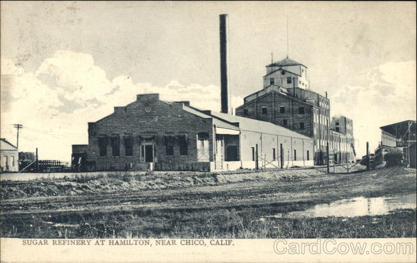 Sugar Refinery Hamilton California