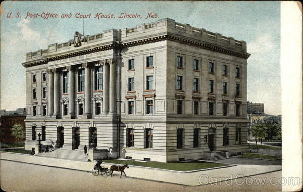 US Post Office and Court House Lincoln Nebraska
