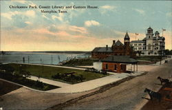 Chickasaw Park, Cossitt Library, and Custom House