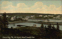 McIntyre's Wharf, Lowells Cove, Casco Bay