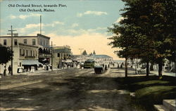 Old Orchard Street, Towards Pier
