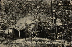 The Old Log Cabin at Pine Banks Park