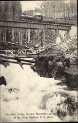 Deception Creek, Cascade Mountains on the Line of the Great Northern Railroad