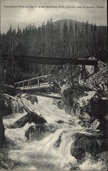 Deception Falls on line of Great Northern RR