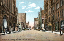 Superior Street, Looking East from 5th West