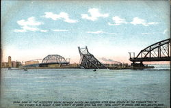 Draw Span of the Interstate Bridge