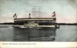 Steamer Minneapolis on the Water