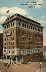 Elks' Bulding at 4th Avenue and Spring Street