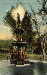 Foster Fountain in Central Park