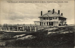 """The Pergolas"" - Summer Residence of Miss C. E. Sears, Prospect Hill"