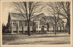 Library, Mount Holyoke College