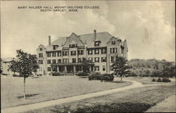 Mount Holyoke College - Mary Wilder Hall