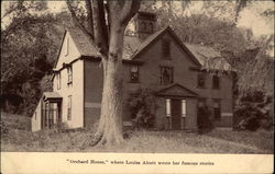 """Orchard House,"" where Louisa Alcott wrote her famous stories"