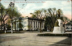 Public Library and Soldiers Monument