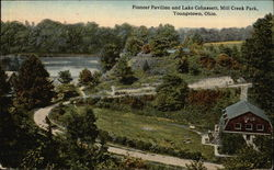 Mill Creek Park - Pioneer Pavilion and Lake Cohassett
