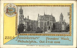 University of Pennsylvania - 225th Anniversary - Founder's Week