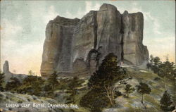 Lovers Leap Butte Postcard