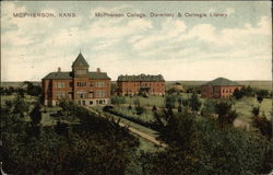 McPherson College, Dormitory & Carnegie Library