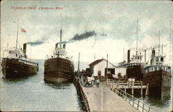 Steamboat at Dock