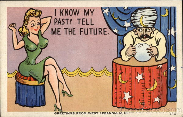 Fortune Teller Lebanon New Hampshire Comic, Funny