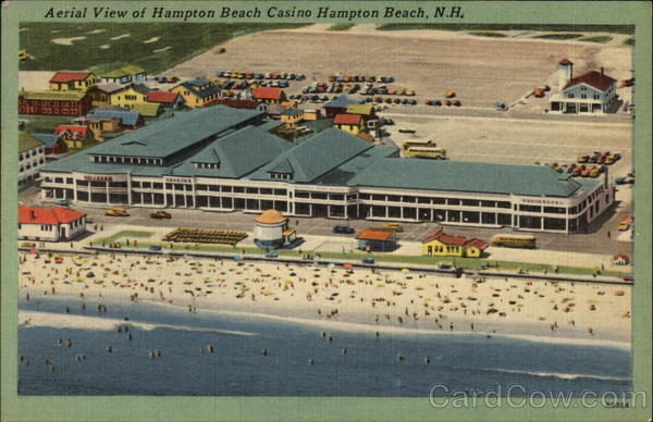 Aerial View of Hampton Beach Casino New Hampshire