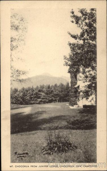 Mt. Chocorua from Juniper Lodge New Hampshire