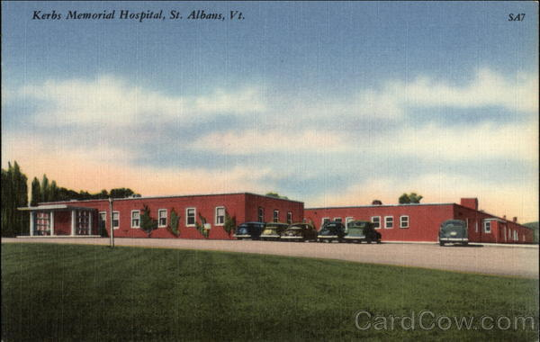 Kerbs Memorial Hospital St. Albans Vermont