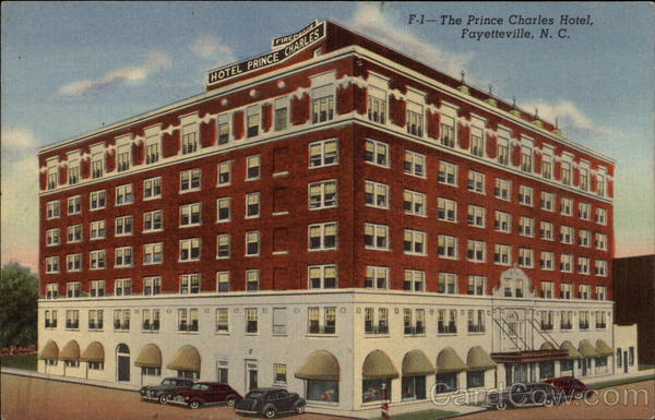 The Prince Charles Hotel Fayetteville Nc
