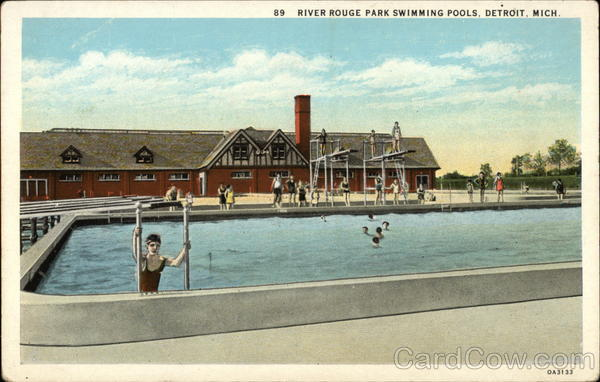 river rouge park swimming pools detroit mi