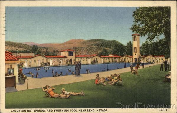 Loughton Hot Springs and Swimming Pool Reno, NV