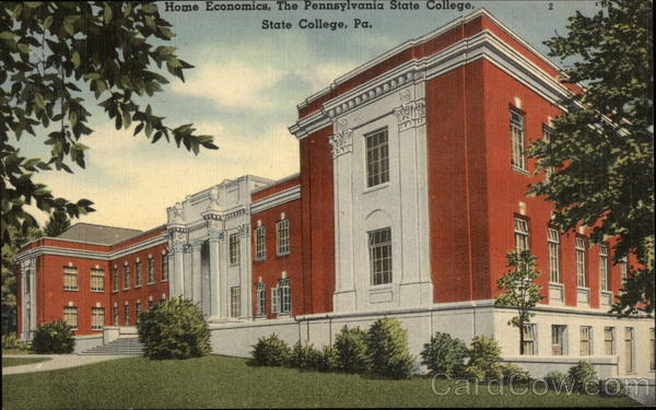 Pennsylvania State College Home Economics Building