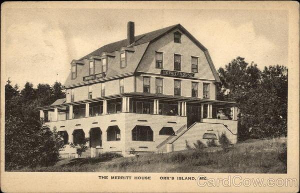 Merritt House Orrs Island
