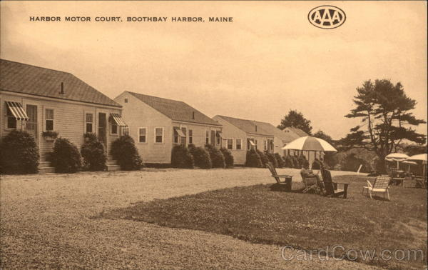 Harbor motor court boothbay harbor me for Lincoln motor company lincoln maine