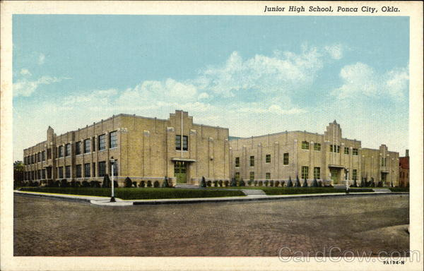 Junior High School Ponca City Oklahoma