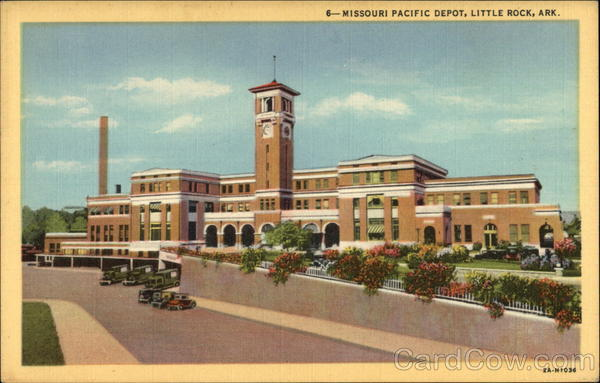 Missouri Pacific Depot Little Rock Arkansas