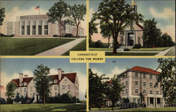 Connecticut College for Women Campus New London