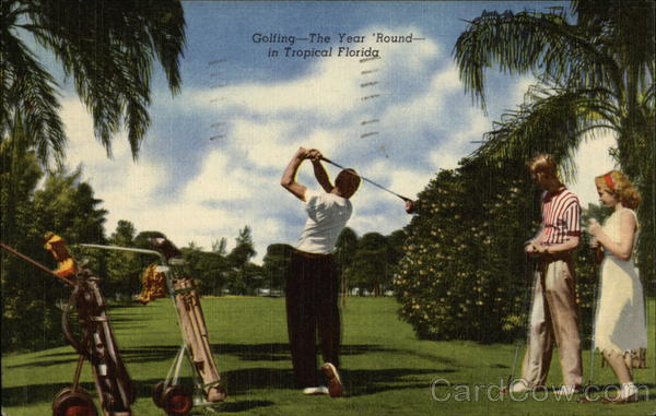 Golfing the Year 'Round Florida
