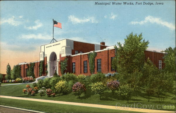 Municipal Water Works Fort Dodge Iowa