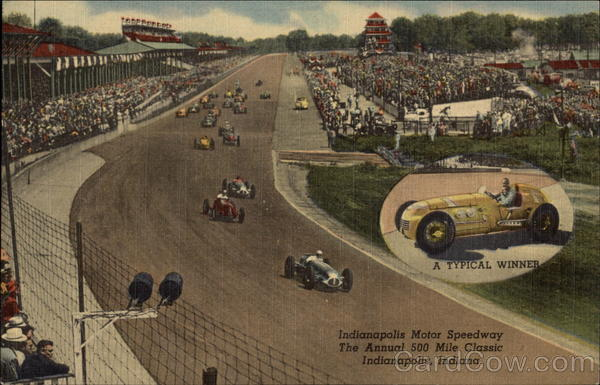 Indianapolis Motor Speedway, The Annual 500 Mile Classic